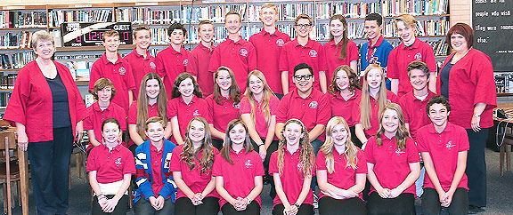 2015 - 2016   T. H. Bell National Academic League Team