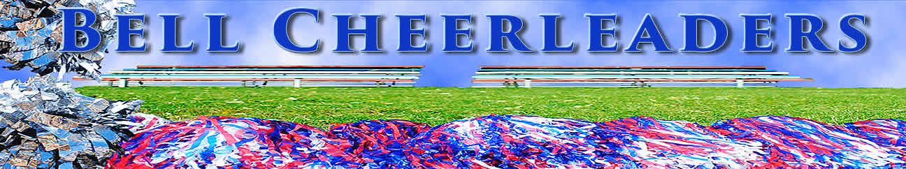 T.H. Bell Cheeleaders Banner