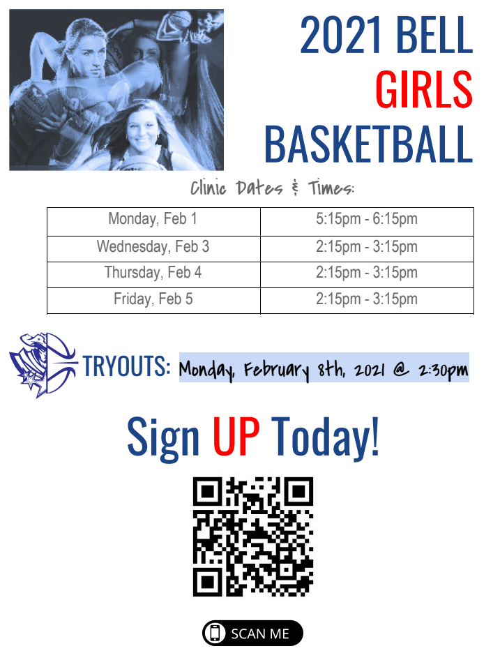 Clinic Tryout Dates 2021